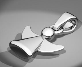Engel Anhänger Silber 925/-
